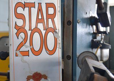 Escopleadora de Cadena MABO STAR 200