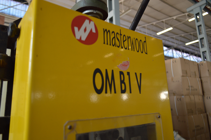 Escopleadora de bedano Masterwood