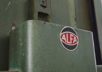 Sierra de cinta ALFA 600mm