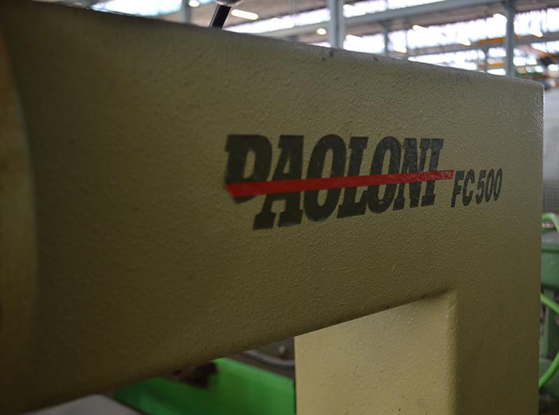 Fresadora PAOLONI FC500