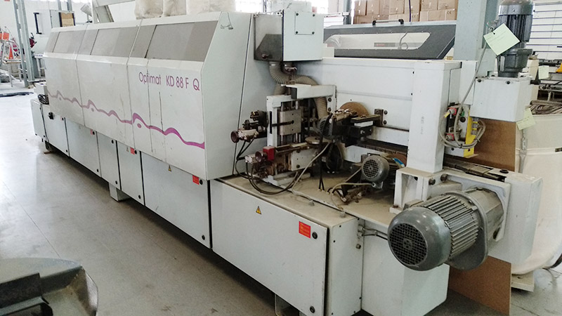 Encoladora de cantos BRANDT Optimat KD88
