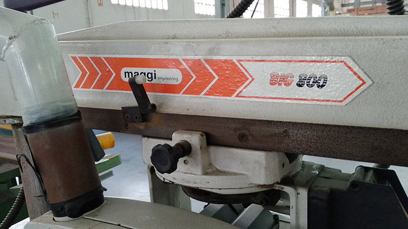 Sierra radial MAGGI BIG 800